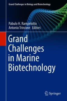 Grand Challenges in Marine Biotechnology, Hardback Book