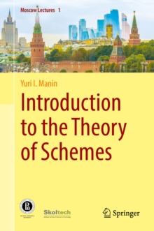Introduction to the Theory of Schemes, PDF eBook