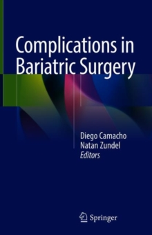 Complications in Bariatric Surgery, Hardback Book