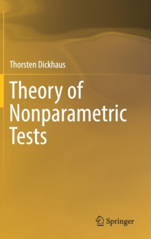 Theory of Nonparametric Tests, Hardback Book