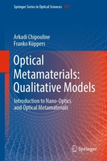 Optical Metamaterials: Qualitative Models : Introduction to Nano-Optics and Optical Metamaterials, EPUB eBook