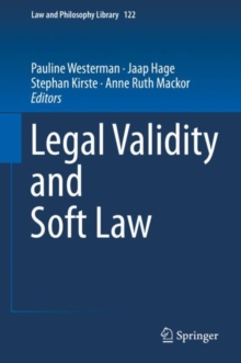 Legal Validity and Soft Law, Hardback Book