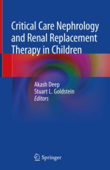 Critical Care Nephrology and Renal Replacement Therapy in Children, Hardback Book