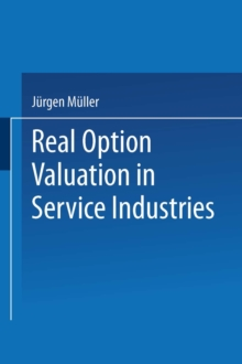 Real Option Valuation in Service Industries, PDF eBook