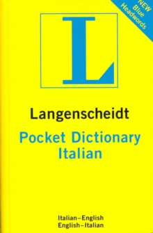 Langenscheidt Pocket Italian Dictionary: English-Italian & Italian-English, Paperback Book