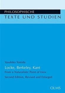 Locke, Berkeley, Kant : From a Naturalistic Point of View, Paperback Book