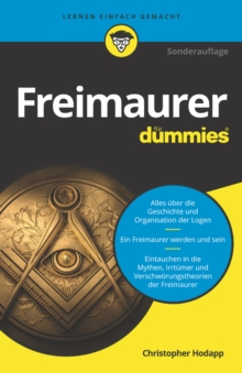 Freimaurer f r Dummies, EPUB eBook