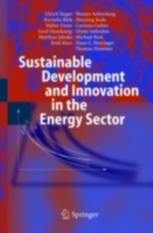 Sustainable Development and Innovation in the Energy Sector, PDF eBook