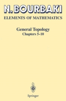 General Topology : Chapters 5-10, Paperback / softback Book