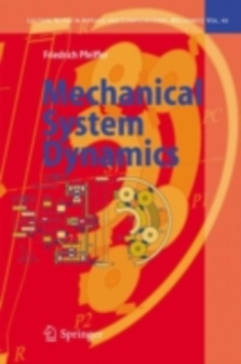 Mechanical System Dynamics, PDF eBook