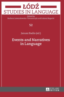 Events and Narratives in Language, Hardback Book
