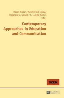 Contemporary Approaches in Education and Communication, Hardback Book