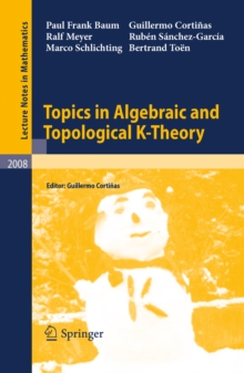 Topics in Algebraic and Topological K-Theory, PDF eBook