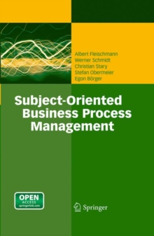Subject-Oriented Business Process Management, EPUB eBook