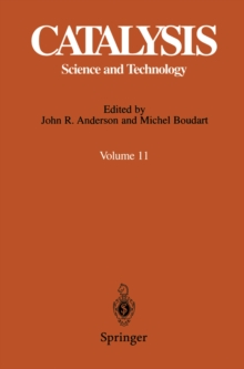 Catalysis : Science and Technology, PDF eBook