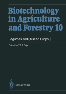 Legumes and Oilseed Crops I, PDF eBook