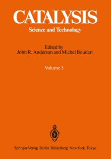 Catalysis : Science and Technology Volume 5, PDF eBook