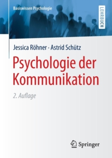 Psychologie Der Kommunikation, Paperback Book