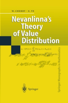 Nevanlinna's Theory of Value Distribution : The Second Main Theorem and its Error Terms, PDF eBook
