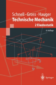 Technische Mechanik : Band 2: Elastostatik, PDF eBook