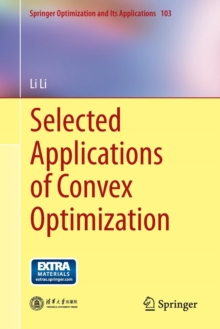 Selected Applications of Convex Optimization, Paperback Book