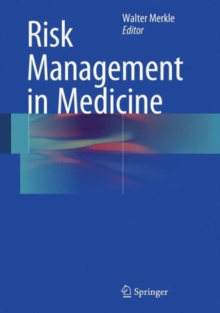 Risk Management in Medicine, Hardback Book