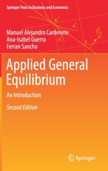 Applied General Equilibrium : An Introduction, Hardback Book