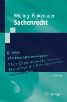 Sachenrecht, EPUB eBook