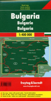 Bulgaria : FB.R02, Sheet map, folded Book