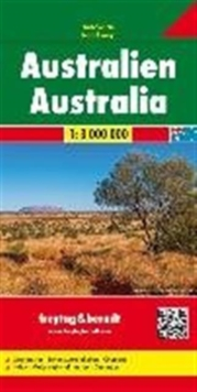 Australia : FB.040, Sheet map, folded Book