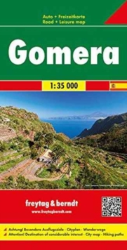 Gomera : FB.S023, Sheet map, folded Book