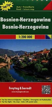 Bosnia / Herzegovina : FB.J025, Sheet map, folded Book