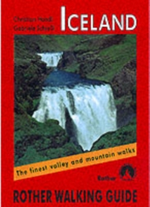 Iceland : Rother Walking Guide, Paperback Book
