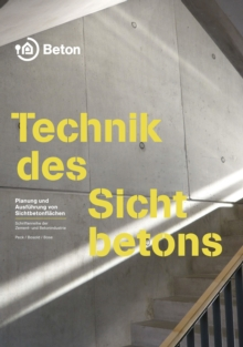 Technik des Sichtbetons, PDF eBook