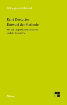 Entwurf der Methode, PDF eBook