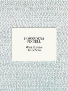 Howardena Pindell : What Remains To Be Seen, Hardback Book
