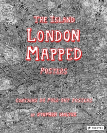 The Island : London Mapped Posters, Paperback Book