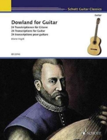 DOWLAND FOR GUITAR, Paperback Book
