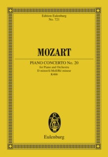Piano Concerto No. 20 D minor, PDF eBook