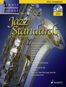 Jazz Standards for Alto Saxophone : 14 Most Beautiful Jazz Songs, Mixed media product Book