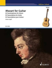 Mozart for Guitar : 32 Transcriptions for Guitar, Sheet music Book