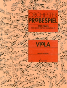 TEST PIECES FOR ORCHESTRAL AUDITIONS VIO, Paperback Book