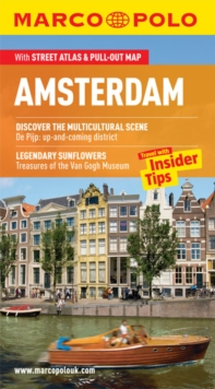 Amsterdam Marco Polo Pocket Guide, Paperback Book