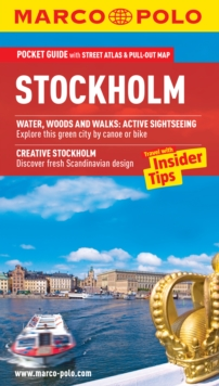Stockholm Marco Polo Pocket Guide, Mixed media product Book