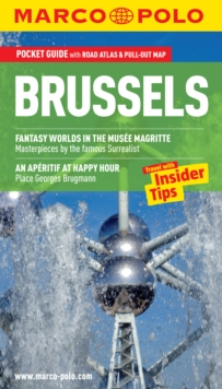 Brussels Marco Polo Pocket Guide, Mixed media product Book