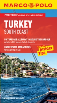 Turkey South Coast Marco Polo Pocket Guide, Mixed media product Book