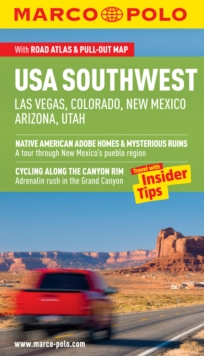 USA Southwest (Las Vegas, Colorado, New Mexico, Arizona, Utah) Guide, Paperback / softback Book