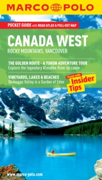 Canada West (Rocky Mountains & Vancouver) Marco Polo Pocket Guide, Paperback Book