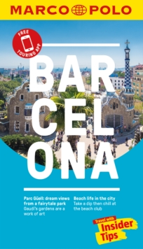 Barcelona Marco Polo Pocket Travel Guide 2018 - with pull out map, Paperback Book