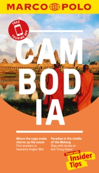 Cambodia Marco Polo Pocket Travel Guide 2018 - with pull out map, Paperback Book